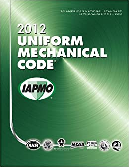 2012 uniform mechanical code 9781938936197 for Uniform swimming pool spa and hot tub code 2012 edition
