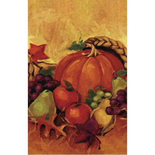 Harvest Still Life 54in x 102in Paper Tablecover