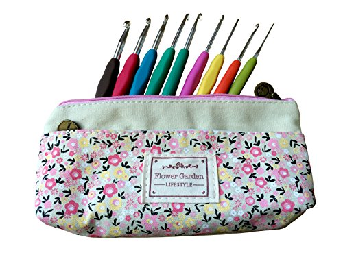 Comfort Zone Knitting Needles : Crochet hooks familytown pc aluminum hook set