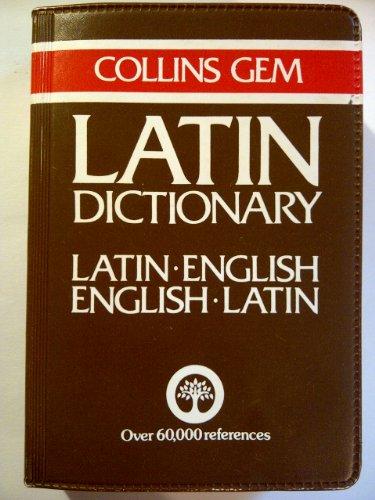 Collins Gem Dictionary: Latin-English, English Latin PDF