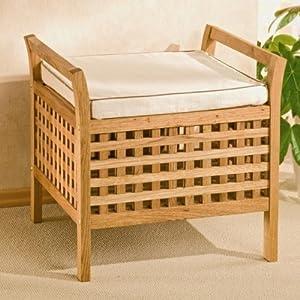 coffre de rangement et tabouret en bois cuisine maison. Black Bedroom Furniture Sets. Home Design Ideas