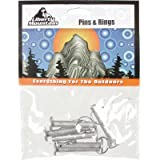 Liberty Mountain Rings And Pins, Pack of 6