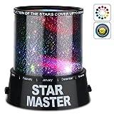 HooToo® - Projecteur Ciel Etoile Incroyable LED Star Beauty Night Light Sky coloré lampe d'éclairage du projecteur