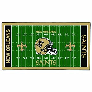 NFL New Orleans Saints 28 x 52-Inch Floor Mat by WinCraft