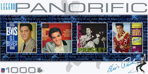 Panorific Panoramic Legends Elvis Presley Famous Album Covers
