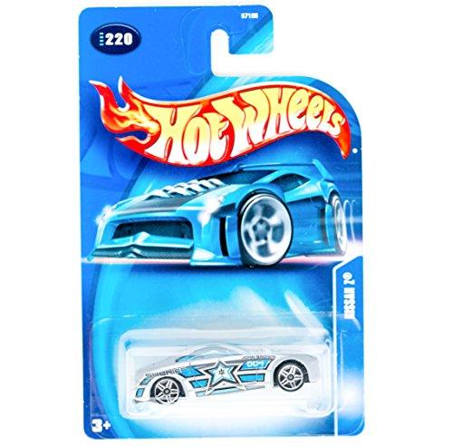 Mattel Hot Wheels 2003 1:64 Scale Roll Patrol Silver & Blue Nissan Z Sheriff Brown Die Cast Police Car #220 - 1