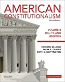 img - for American Constitutionalism: Volume II: Rights and Liberties book / textbook / text book