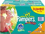 Pampers Baby Dry Nappies Jumbo Pack Midi 104