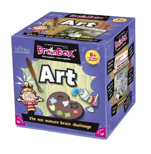 Imagen 1 de Green Board Games BrainBox Art- Juego de mesa (en inglés) [Importado de Gran Bretaña]