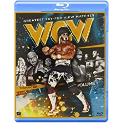 WCW's Greatest Pay-Per-View Matches, Volume 1 Blu-Ray