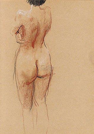 """Kunstdruck, Poster """"Nude"""" von"""