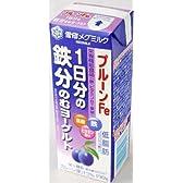 雪印メグミルク MEGMILKプルーンFe 1日分の鉄分のむヨーグルト 190g×9本セット 要冷蔵