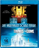 She / Things to Come (Ray Harryhausen Double Bill) [Blu-ray] [Region B German Import]