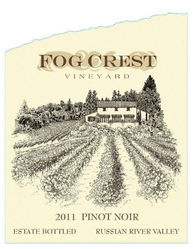 2011 Fog Crest Estate Pinot Noir750 Ml