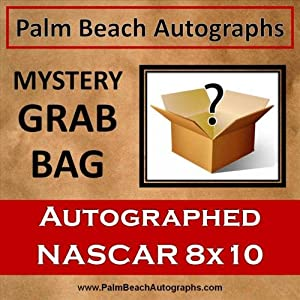 MYSTERY GRAB BAG - Nascar Driver Autographed 8x10 Photo