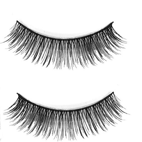 Leoy88 5 Pair Natural Look False Eyelashes Voluminous Makeup Extension