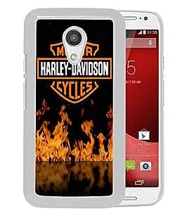 Amazon.com: Harley Davidson For Motorola Moto G (2nd generation) White