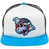Official Nintendo Super Mario Dry Bones Blue Trucker Hat Adjustable