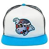 Official Nintendo Super Mario Dry Bones Blue Trucker Hat Adjustable
