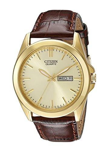 citizen s bf0582 01p gold tone stainless steel