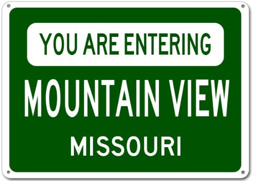Mountain View City Sign