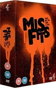 Misfits - Series 1-4 [DVD]