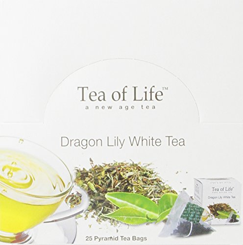 Tea Of Life White Teas, Dragon Lily, 25 Count