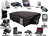 Best NEW Hd Home Theater Multimedia LCD Projector 1080-hdmi Tv DVD Paystation