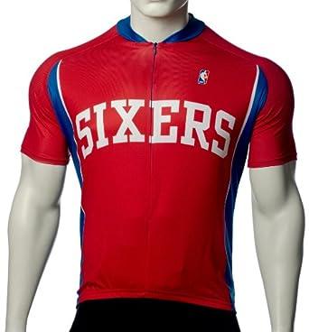 NBA Philadelphia 76ers Ladies Cycling Jersey by VOmax