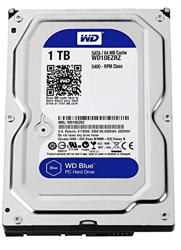 WD Blue 1TB SATA 6Gb/s HDD internal 8,9cm 3,5Zoll