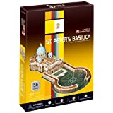 Frank 3D Cubic Fun St Peters Basilica Puzzles Are Fun & Educational At The Same Time! These 3D Puzzles Requires...