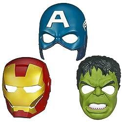 Funcart Super Heros Mask (set of 3)