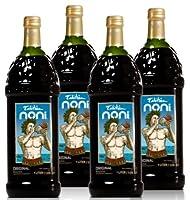 Tahiti Noni Juice - 1 Full Case of 4 32oz Glass Bottles