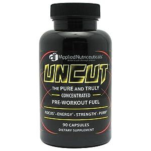 Applied Nutriceuticals Uncut Pre Workout Fuel -- 90 Capsules