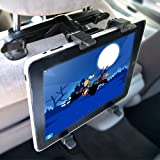 Backseat Head Rest Car Mount / Holder for iPad / iPad 2 / Motorola XOOM / HTC Flyer / Asus Transformer / Tablet PC /