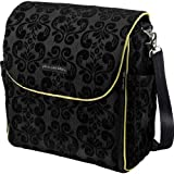 Petunia Pickle Bottom Women's Boxy Backpack Diaper Bag, Black Currant