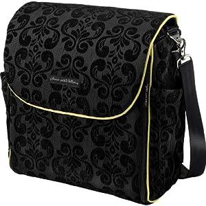 petunia pickle bottom women 39 s boxy backpack diaper bag black currant d ja. Black Bedroom Furniture Sets. Home Design Ideas