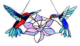 Nectar Hummingbirds Window Panel