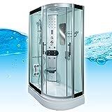 AcquaVapore DTP8060-7000R Dusche Duschtempel Komplett...