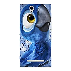 Ajay Enterprises Wonderful Baby Birdy Back Case Cover for Sony Xperia C3
