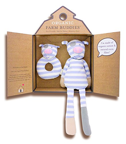 Organic Farm Buddies, Pirate Pig Gift Set