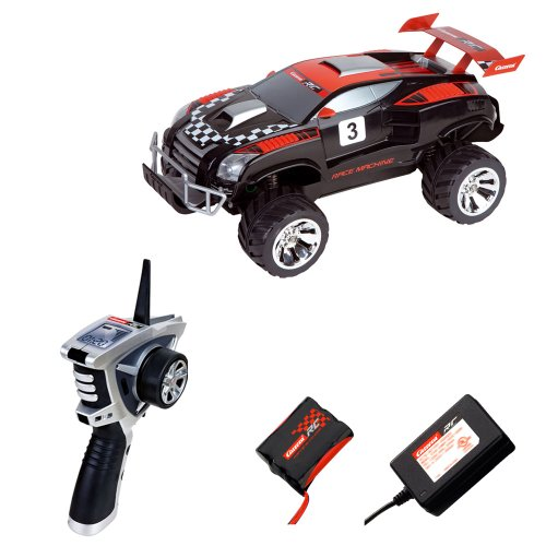 Imagen 4 de Carrera RC - Racing Machine 4 x 4, coche con radiocontrol, escala 1:12, color negro (Carrera 120008)