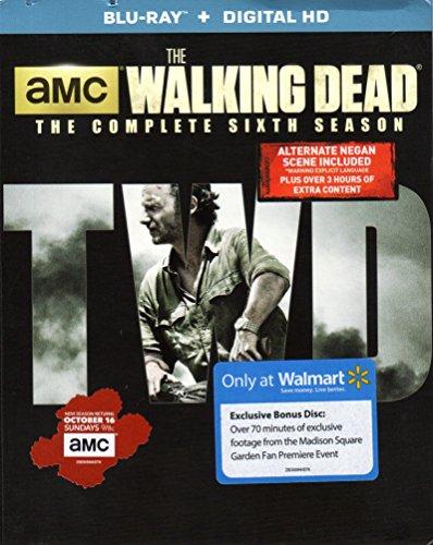 The Walking Dead: The Complete Sixth Season Walmart Exclusive Edition Bluray