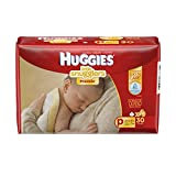 Huggies Little Snugglers Baby Diapers, Size Preemie, 30 Count (Packaging May Vary)