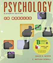 Loose-leaf Version for Psychology in Modules