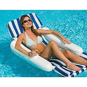 Buy International Leisure Sunchaser Padded Floatng Lounger by International Leisure