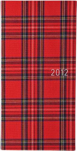 ほぼ日手帳 2012 WEEKS(タータンチェック・レッド)