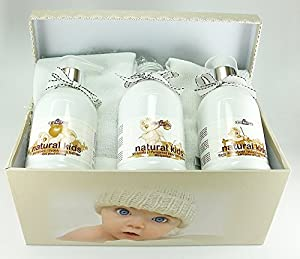 Caja regalo cosmética natural bebés de Natural Kids