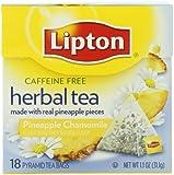Lipton Herbal Pyramid Tea Bag, Pineapple Chamomile, 18 Count