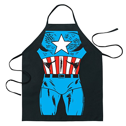 Captain America Be The Hero Apron 09940, Captain America